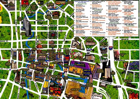 san antonio texas riverwalk map map of riverwalk san antonio tx pictures to pin on pinsdaddy