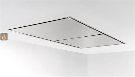 hotte de plafond inox avec 233 clairage halog 232 ne large