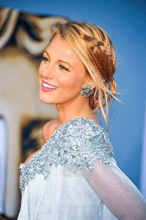 how to do model hairstyles blake lively hairstyles best braids glamour