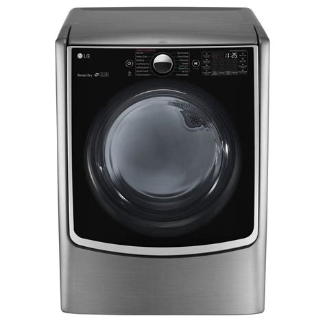 steam dryer static lg electronics 7 4 cu ft gas dryer with steam in
