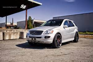 Mercedes On Mercedes W164 Ml320 On Pur Wheels Benztuning