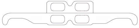 printable paper nerd glasses paper template paper glasses template paper glasses template