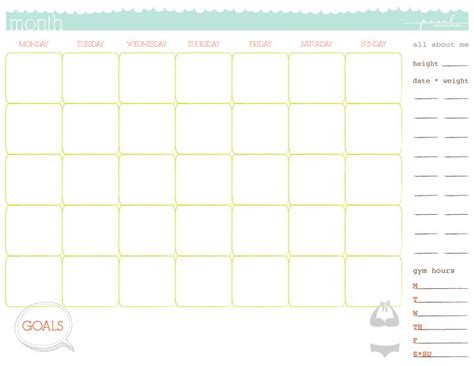workout calendar template 5 workout calendar templates excel xlts