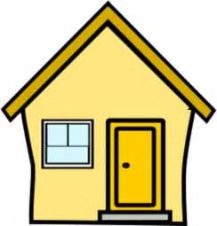 das gelbe haus gelbes haus yellow house vector clip