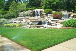 Landscape Ideas Pictures 50 Pictures Of Backyard Garden Waterfalls Ideas Designs