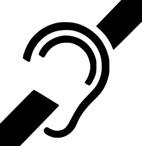 a deaf deaf symbol clip at clker vector clip royalty free domain