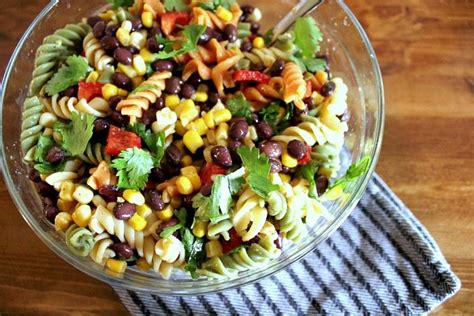 easy mexican pasta salad easy mexican fiesta pasta salad the creek line house