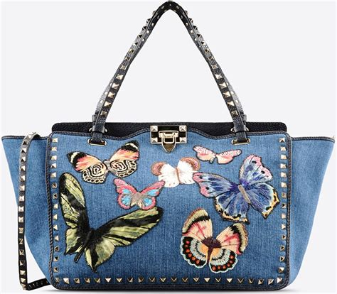 Butterfly Bag valentino denim butterfly bag collection bragmybag