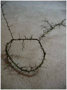 How To Make A Crown Of Thorns Out Of Paper - how to make a crown of thorns