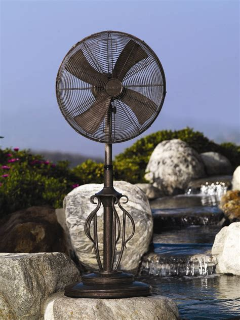 dbf0621 outdoor patio fan floor standing outdoor