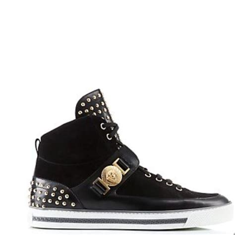 versace studded high top sneakers 245 best images about fashion on ralph