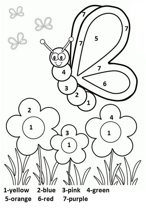free coloring pages for preschoolers spring crafts actvities and worksheets for preschool toddler and