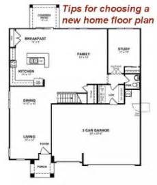 choosing the perfect home floor plan 4 tips for choosing a new home floor plan