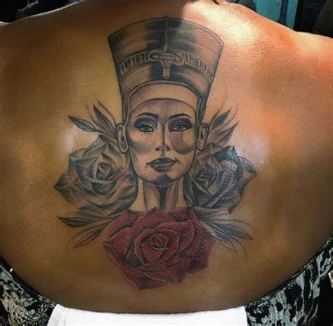 African Queen Tattoo Designs | 50 attractive queen tattoos designs for women 2018