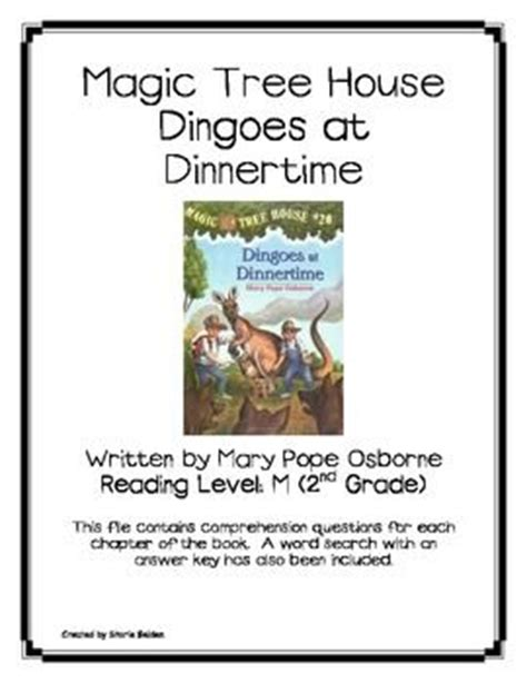 magic tree house printable quizzes trees activities and magic treehouse on pinterest