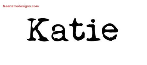 name katie tattoo designs vintage writer name designs free lettering