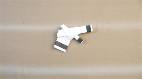How To Make A Paper Gun That Shoots - how to make paper guns step by step pictures 1