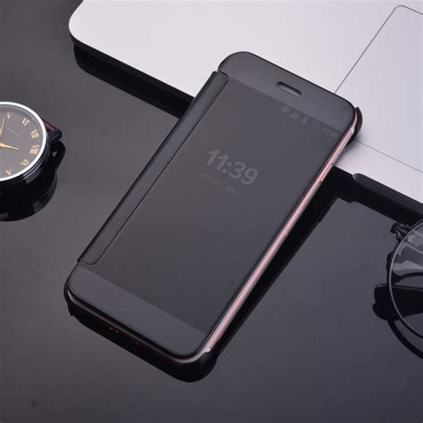flip cover iphone     miroir