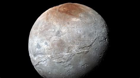 plutos moon charon     ancient ocean  verge