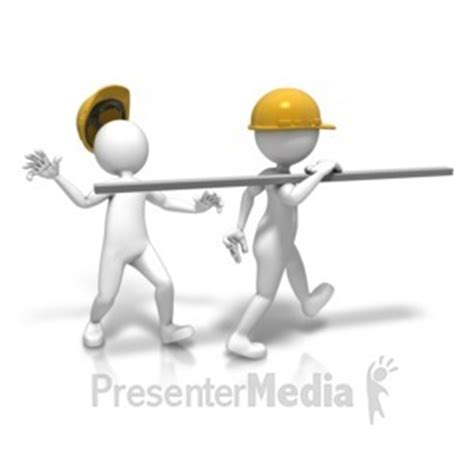 Worker Slip On Spilled Liquid 3d Figures Great Clipart Presenter Media Free