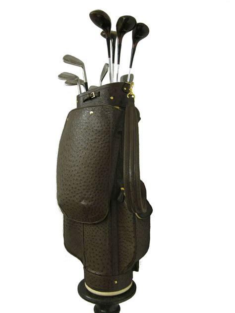 treccani s custom leather golf bags extravaganzi