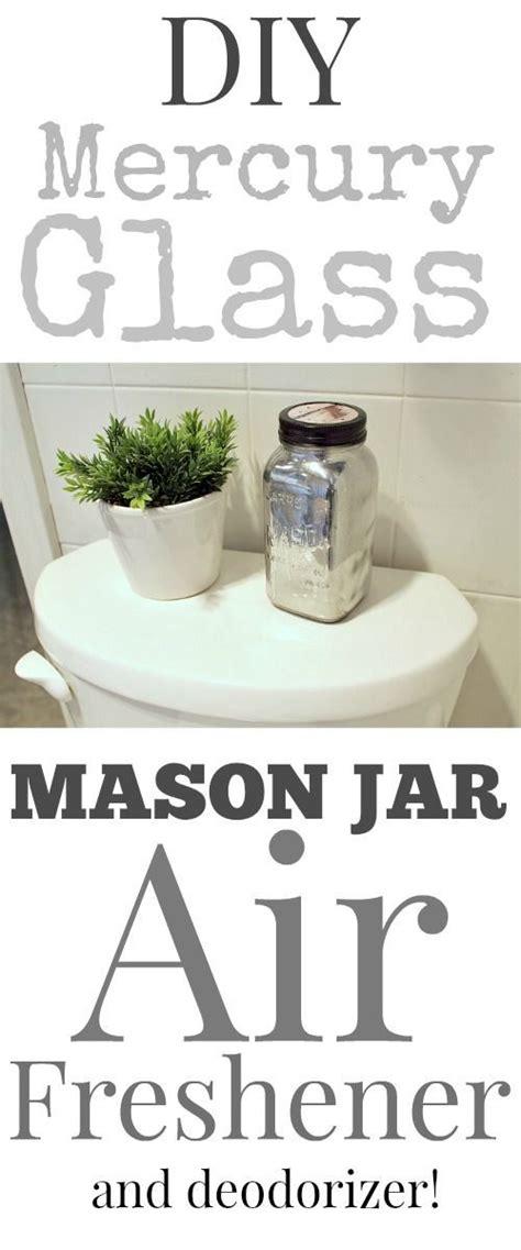 diy bathroom air freshener diy mercury glass mason jar air freshener mercury glass