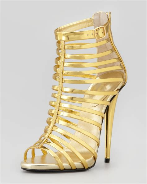 gold high heel gladiator gold heels fs heel