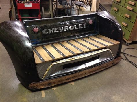 truck bed bench 1000 images about automotive art and furnishings on pinterest