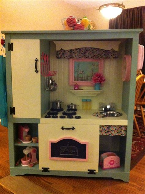 Turn Entertainment Center Into Play Kitchen by Pin By Palenske On S Big Bedroom