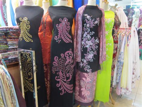 kedai borong sulam di bandung shopping dan membeli belah kain pasang telekung dan tudung