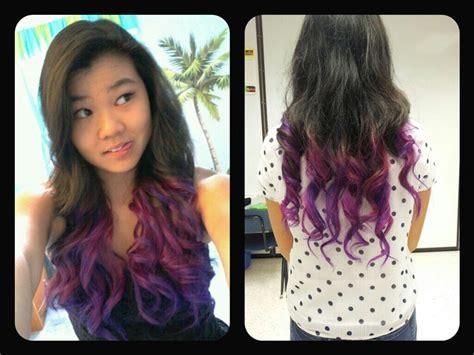 splat hair ideas splat lusty lavender dip dye hair pinterest lavender