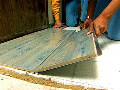 laminate flooring diy