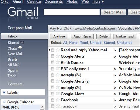 gmail colour themes themes comes to gmail