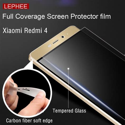 Paket Softcase Tempered Glass Xioami Redmi 2 S Pro Prime screen protectors lephee xiaomi redmi 4 pro prime 9h hardness tempered glass 3d carbon