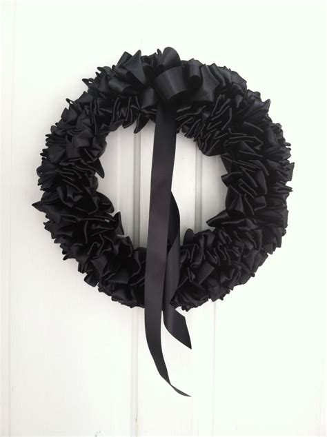 black funeral wreaths norine s new life 80