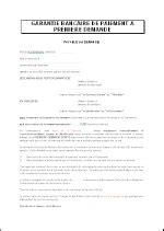Demande De Lettre De Garantie Garantie Bancaire 224 Premi 232 Re Demande Fr