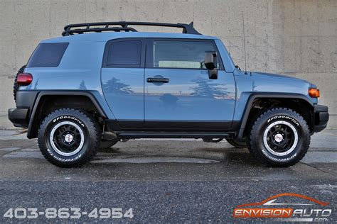 fj cruiser car 2014 toyota fj cruiser trail teams ultimate edition