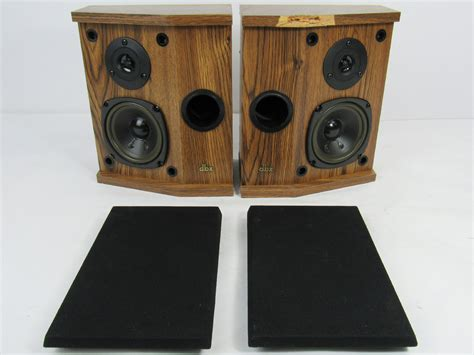 ls made in usa dbx soundfield 3x2 ls plus woodgrain speaker pair made in