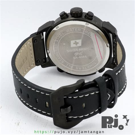 Swiss Army Dhc A jual swiss army dhc sa 4068 time black