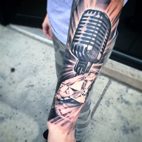 vintage microphone tattoo designs vintage microphone and by carolyn elaine
