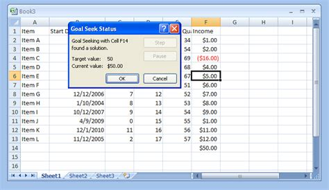 goal seek tutorial excel 2010 create a what if scenario with goal seek what if