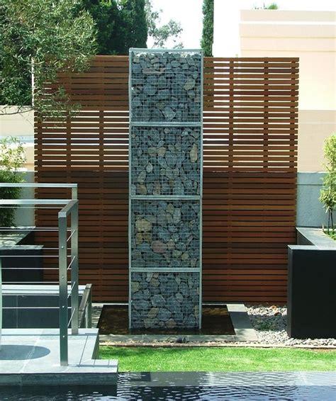 Mur Et Cl 244 Ture Gabion Id 233 Es Pour Le Jardin En 31 Photos Idee Deco Jardin Palissade