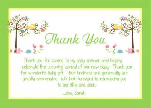 baby shower thank you card wording ideas all things baby babies