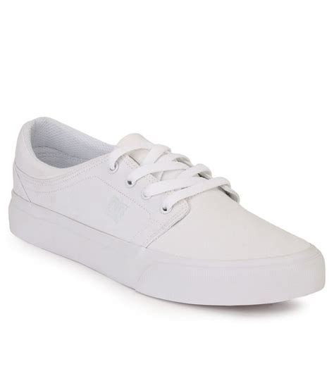 dc white smart casuals casual shoes price in india buy dc