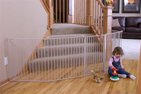 4in1 Set Denia Fit L regalo 192 inch wide adjustable gate and play yard 2 in 1 indoor safety
