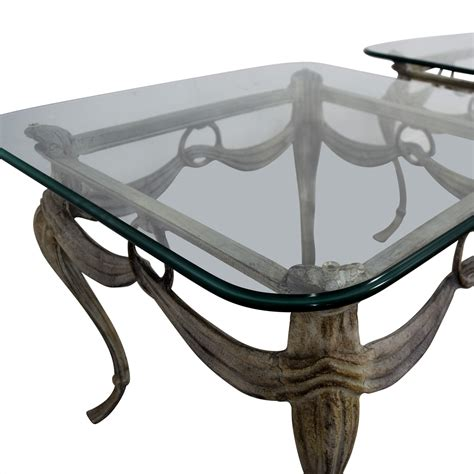 metal and glass end tables 86 glass and metal end tables tables