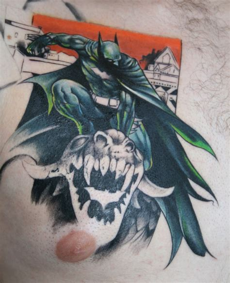 batman chest tattoo batman tattoos batman tattoos