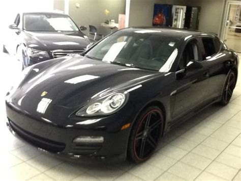 porsche hatchback black purchase used 2011 porsche panamera hatchback 4 door 3 6l