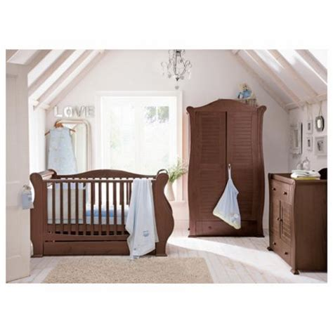 Sleigh Nursery Furniture Set Buy Tutti Bambini 3 Sleigh Room Set Walnut From Our Nursery Furniture Sets Range