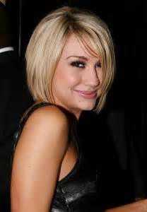 Cute short blonde bob haircut with bangs popular bob hairstyles 2014